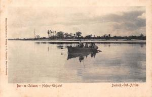 German East Africa Tanzania Dar-es-Salaam - Hafen-Einfahrt, Boote, Boat Prot