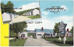 Blue Star Motel Cabins, Niagara Falls NY
