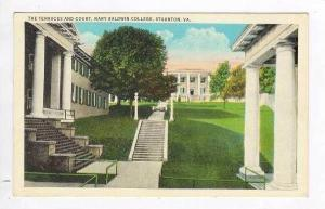 The Terraces & Court, Mary Baldwin College, Staunton,Virginia, 1936