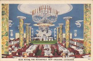Louisiana New Orleans Blue Room The Roosevelt Hotel