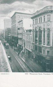 PROVIDENCE , Rhode Island , 1901-07 ; Westminster Street