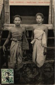 CPA CAMBODIA Cambodge - Phnom-Penh Jeunes Femmes (257130)