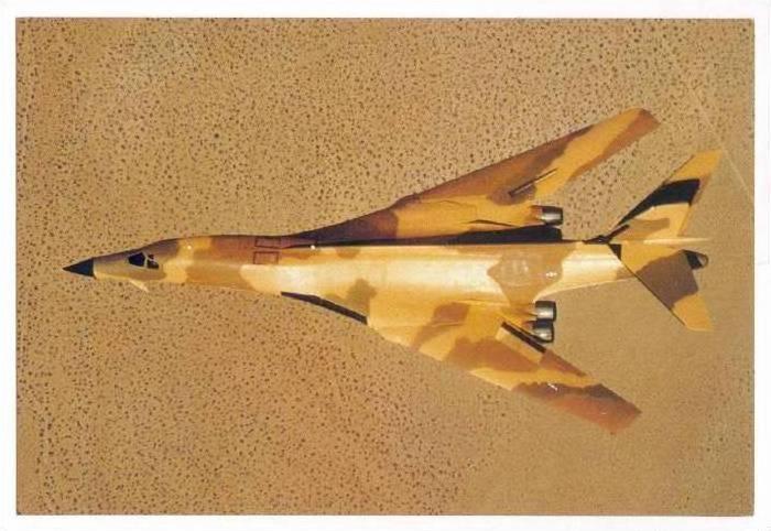 North American B-1 Bomber Jet airplane 70-80s