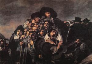 Goya The Pilgrimage to St. Isidre's Hermitage La Romeria de San isidro