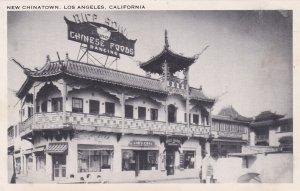 California Los Angeles New Chinatown Rice Bowl Chinese Restaurant
