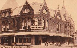 FRESNO , California , 1900-10s ; The Opera House