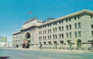 Canada Canadian National Railway Station Winnipeg Manitoba