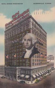 Florida Jacksonville Hotel George Washington 1944
