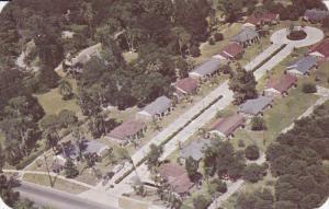WINTER HAVEN, Florida, PU-1952; Beautiful Spring Lake Terrace Motor Court