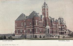 \WINNIPEG, Manitoba, Canada, 1900-10s; Court House