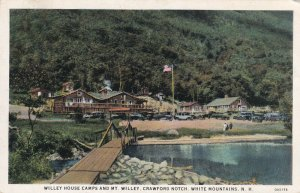 WHITE MOUNTAINS, New Hampshire, 10-30s; Willey House Camps, Crawford Notch