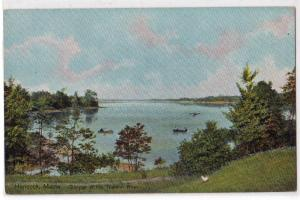 Teunion River, Hancock ME