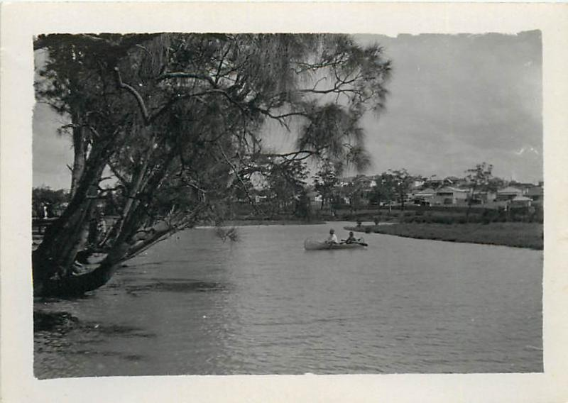 Cooks River Marrackville Sydney Australia 6x8cm real photo