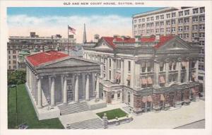 Ohio Dayton Old and New Court House