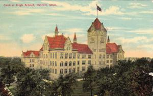 Central High School, Detroit, Michigan, PU-1912