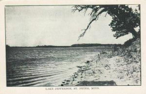 ST. PETER, Minnesota, 1900-10s; Lake Jefferson