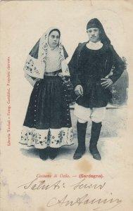 Costume di Osilo , Sardegna , Italy , 1900