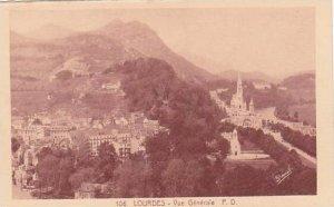 France Lourdes Vue Generale