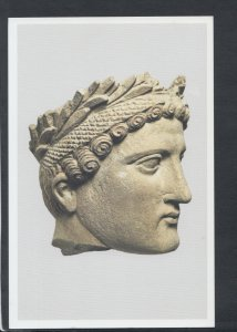 Cyprus Postcard - Limestone Head of Wreathed Young Man, Cypro-Classical RR6788