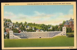 West Virginia ~ Stadium University of West Virginia MORGANTOWN - LINEN