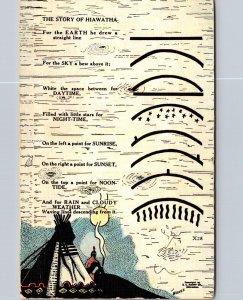 American Indian The Story Of Hiawatha