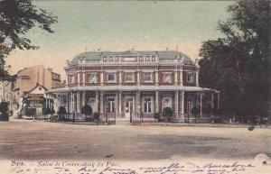 Salon De Conversation Du Parc, Spa (Liege), Belgium, PU-1914