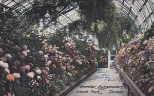Illinois Chicago Interior Conservatory Lincoln Park