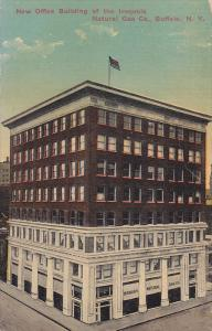 New Office Building Of The Iroquois, Natural Gas Co., Buffalo, New York, 1900...