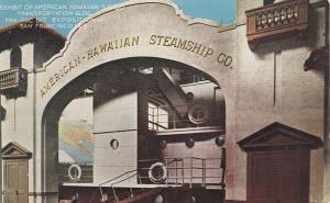 American-Hawaiian Steamship Company Display, Pan-Pac Exposition 1915