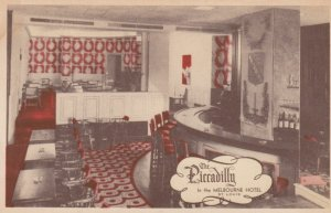 ST. LOUIS, Missouri, 1900-10s; The Picadilly in the Melbourne Hotel