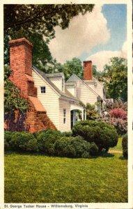 Virginia Williamsburg St George Tucker House