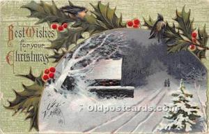 Christmas Holiday 1912