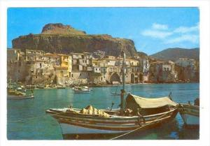 Cefalù , province of Palermo, located on the northern coast of Sicily, Italy...