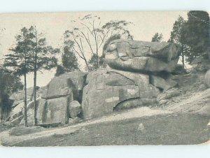Divided-back DEVILS DEN Gettysburg Pennsylvania PA AF8822