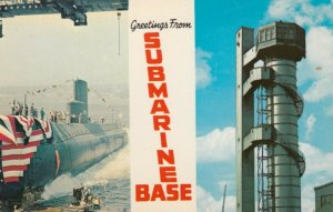 GROTON , Connecticut, 1950-60s; Submarine Base