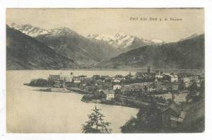 Aerial View of CIty & Harbor,Zell am See,Salzburg,Austria 1900-10s