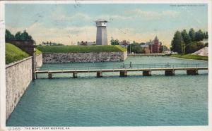 The Moat, FORT MONROE, Virginia, PU-1910