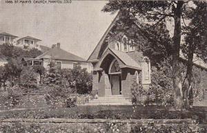 St. Mary's Church, MANITOU, Colorado, PU-1959