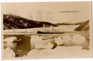 RPPC, Passenger Liner at Taku Glacier Alaska