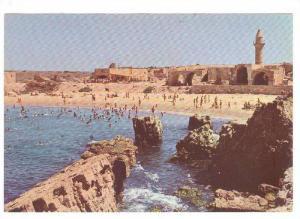Ruins of Old Harbour, Caesarea, Isreal, 50-70s