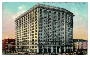 Early 1900s Fifth Avenue Building, New York City Postcard *5N(3)6