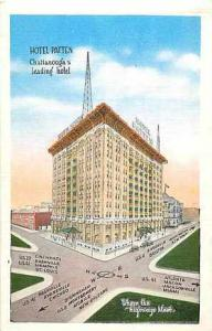 Linen of Hotel Patten Chattanooga Tennessee TN