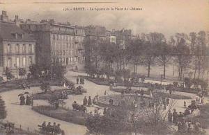 Brest , France , 00-10s : Le Square de la Place du Chateau