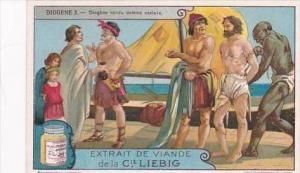Liebig Vintage Trade Card S1205 Diogenes No 2 Diogene vendu comme esclave