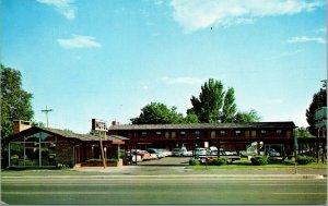Vtg 1960s El Patio Motel Denver Colorado Roadside America Unused Postcard