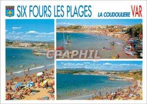 Postcard Modern Six fours les Plages The Coudouliere