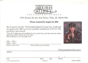 Elvis Presley Movie Star Actor Actress Film Star Postcard, Old Vintage Antiqu...