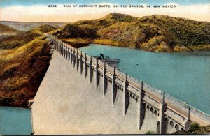 New Mexico Dam At Elephant Butte On The Rio Grande