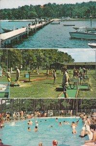CHERITON , Virginia , 50-60s ; KOA Cherrystone Holiday TRAV-L-PARK