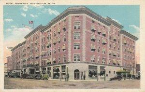 HUNTINGTON , West Virginia, 1910s ; Hotel Frederick
